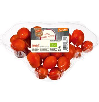 tegut... Bio Dattel-Cherry-Tomaten