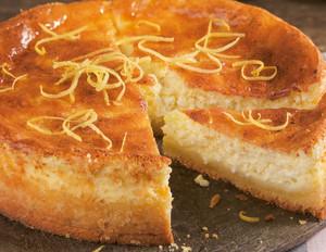 Zitronen-Käsekuchen