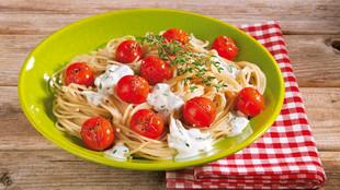 Dinkel Spaghetti a la provencale