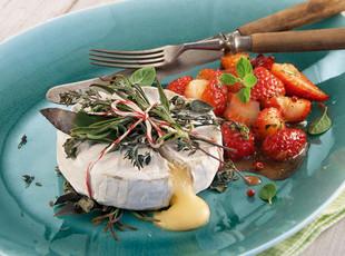 Camembert Grillpaeckchen