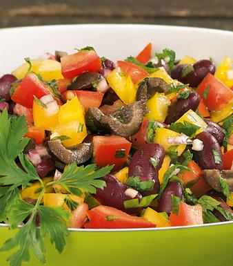 Tomaten Salsa Salat