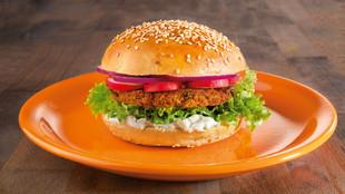 Couscous Burger mit Zaziki
