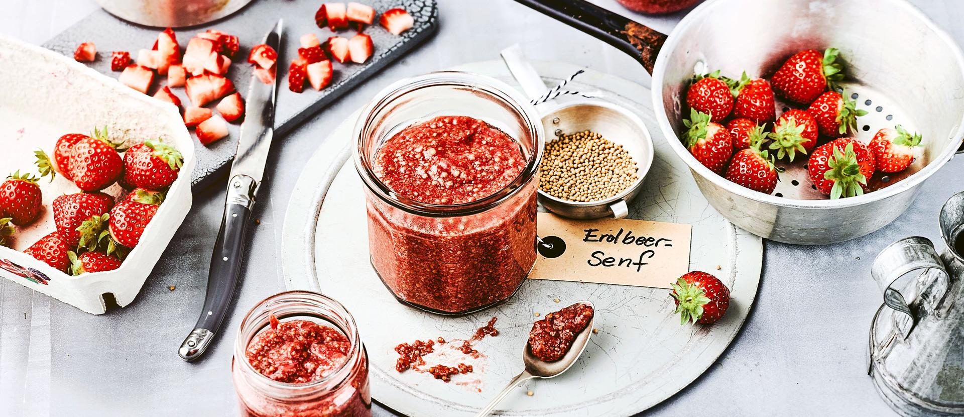 Erdbeer Senf