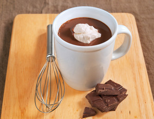 Gewürzschokolade mit Haferdrink