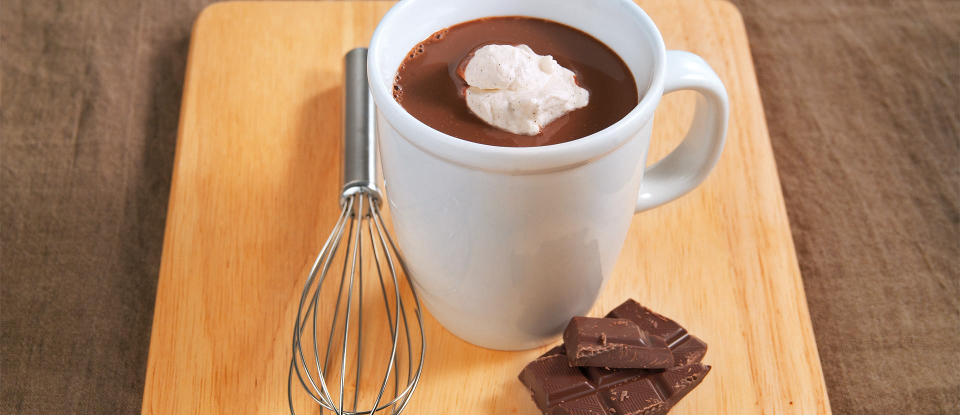 Heisse Hafer Gewuerz Schokolade