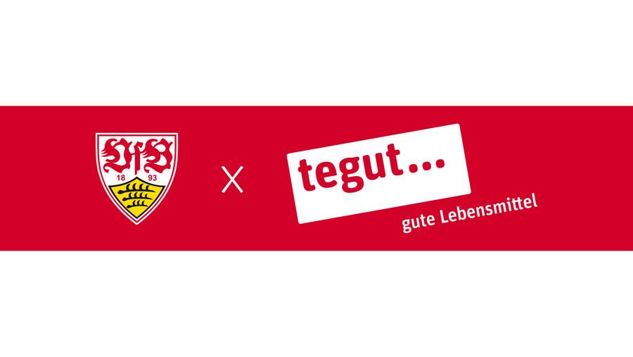 Banner VfB Stuttgart und tegut...