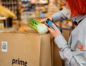 Kommission einer Amazon Prime Now Bestellung