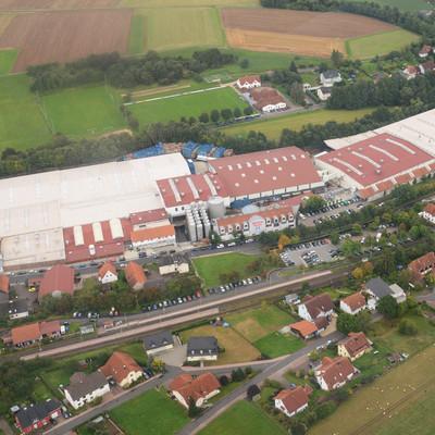 Förstina Fabrik von oben