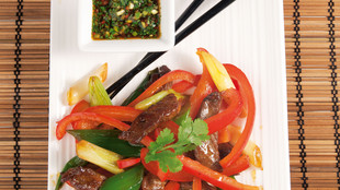 Asiatischer Roastbeefsalat