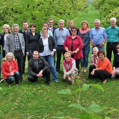Gruppenfoto Beerengemeinschaft Rhön-Vogelsberg