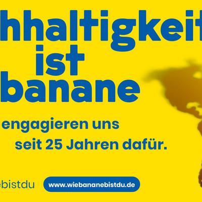 Banner zur Nachhaltigkeit bei Chiquita