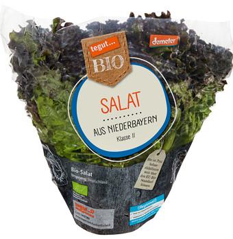 tegut Bio Salat von Stockner GmbH & Co. KG