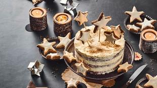 Zimtstern-Torte & Zimtsterne