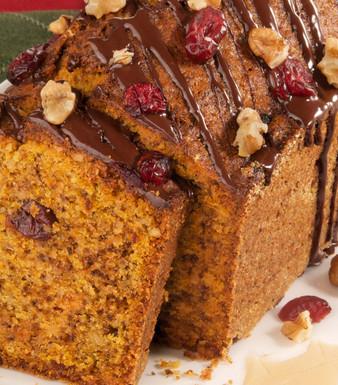 Kürbis-Walnuss-Kuchen