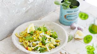 Rucola Casarecce mit Zucchini