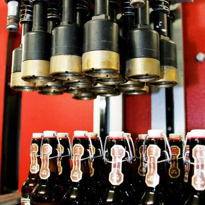 Verpackungsmaschinen für Bierflaschen