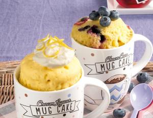 Heidelbeer-Tassenkuchen aus der Mikrowelle