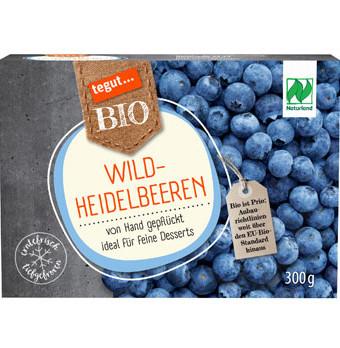 Verpackung Wild Heidelbeeren