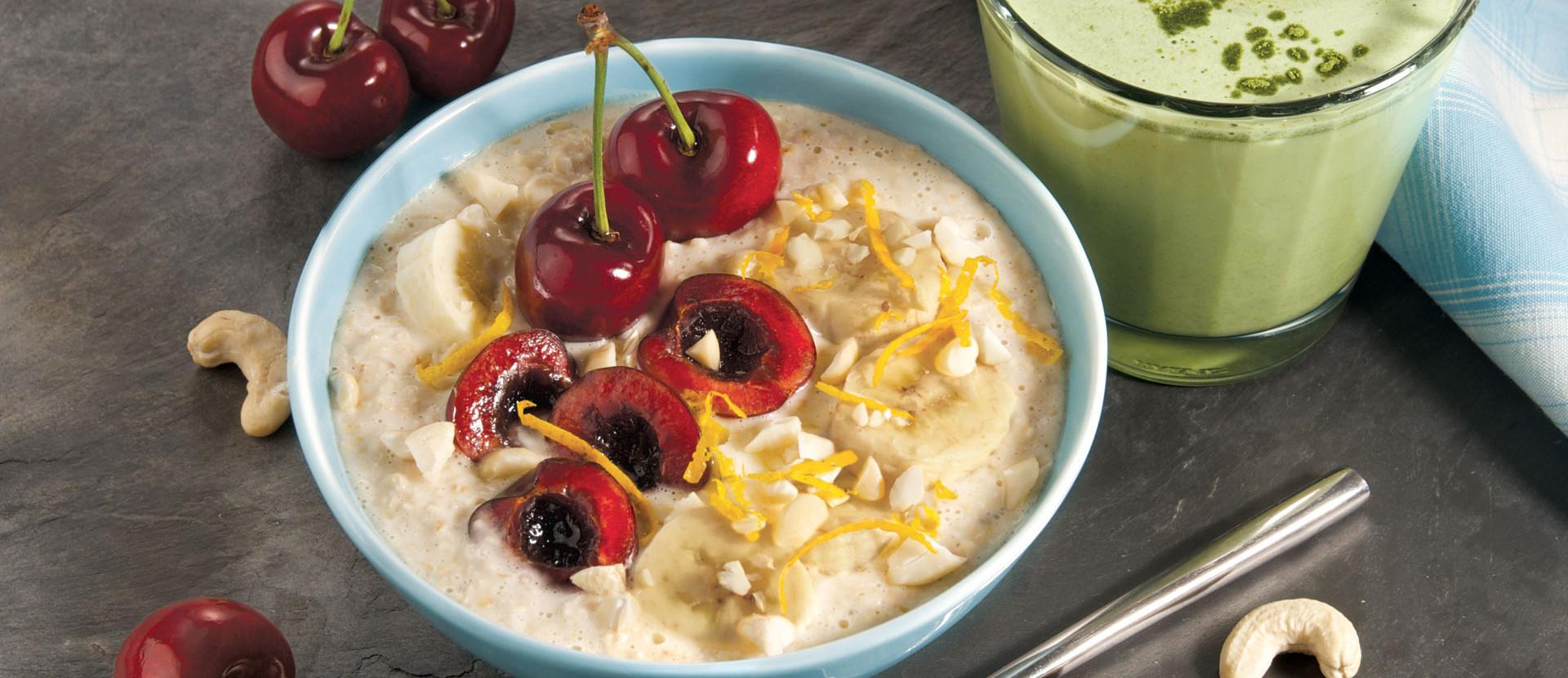 Kirsch Overnight oats