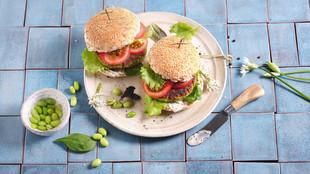Burger mit Protein Patty