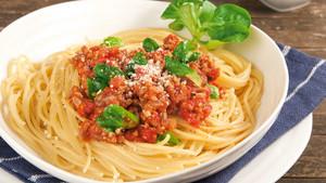 Vegetarische Bolognese mit Nuss-Würze