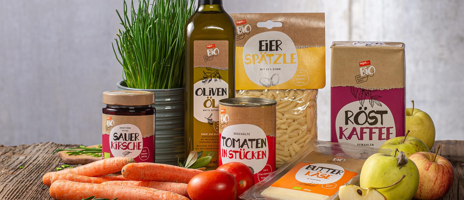 tegut Bio zum kleinen Preis Produkte