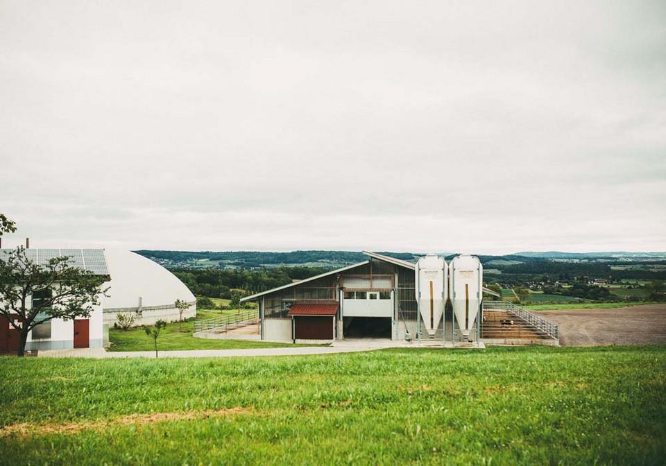 Biogasanlage des Landwirt Russ