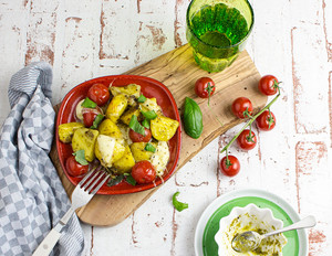 Pesto-Kartoffeln