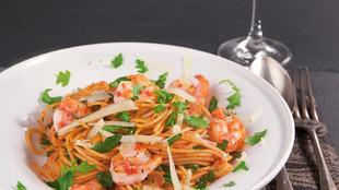 Peperoniwuerzige Spaghetti