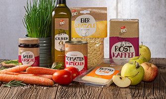 Eigenmarken Produkte Bio zum kleinen Preis