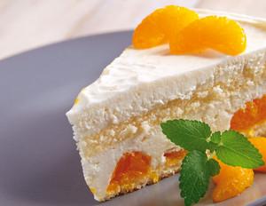 Mandarinen-Käsesahnetorte