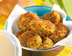 Pikant-würzige Falafel