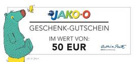 Jako-o-Gutschein im Wert von 50 Euro