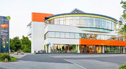 Außenansicht der tegut… Zentrale in Fulda