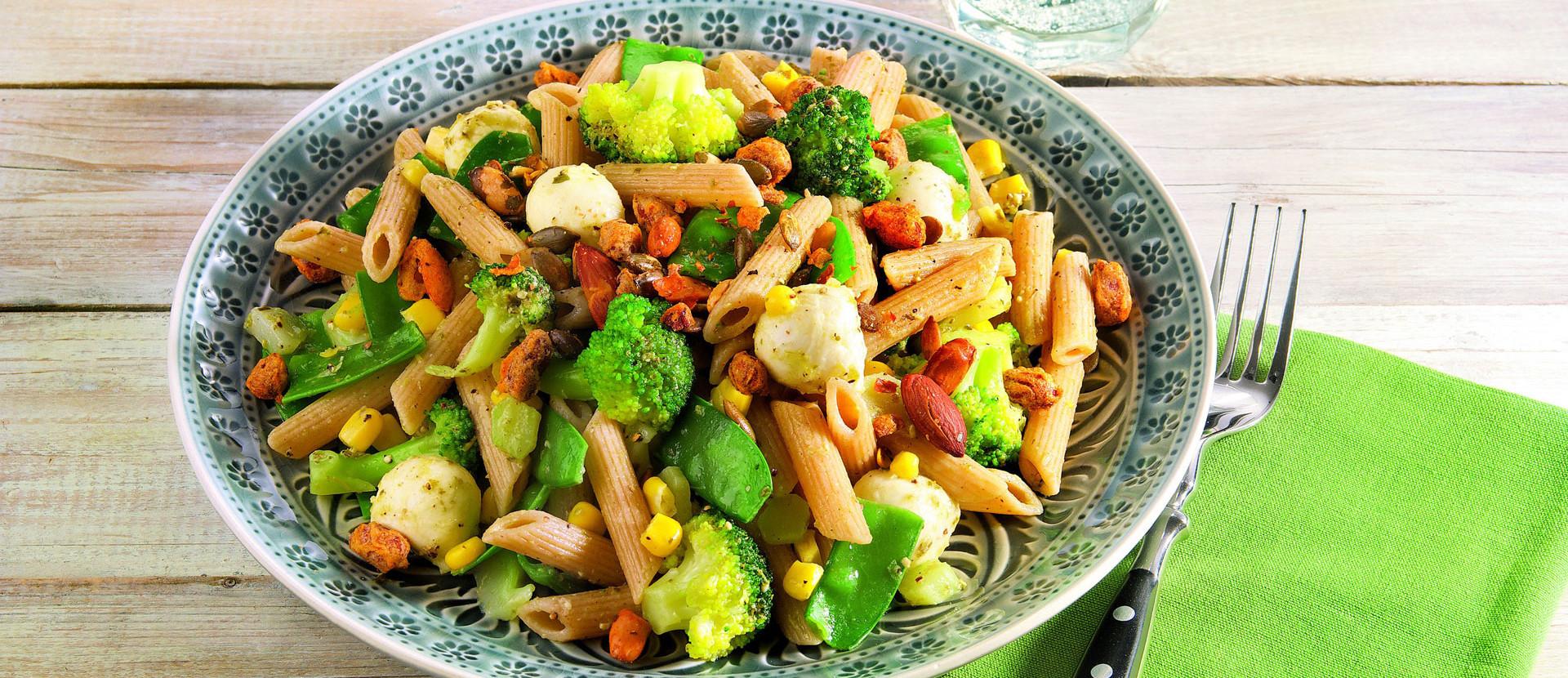 Brokkoli-Nudelsalat