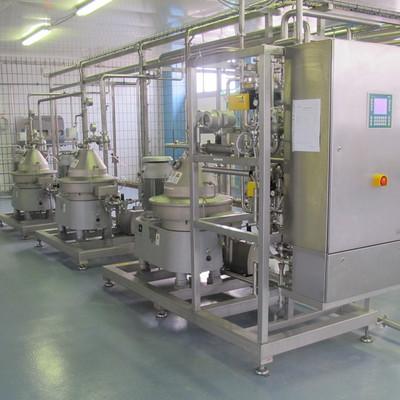 Innenaufnahme des Maschinenraum der Marburger Molkereigenossenschaft