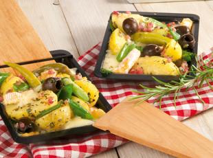 Kartoffel-Käse-Pfanne vom Grill