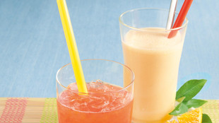 Aperol-Melonen-Drink