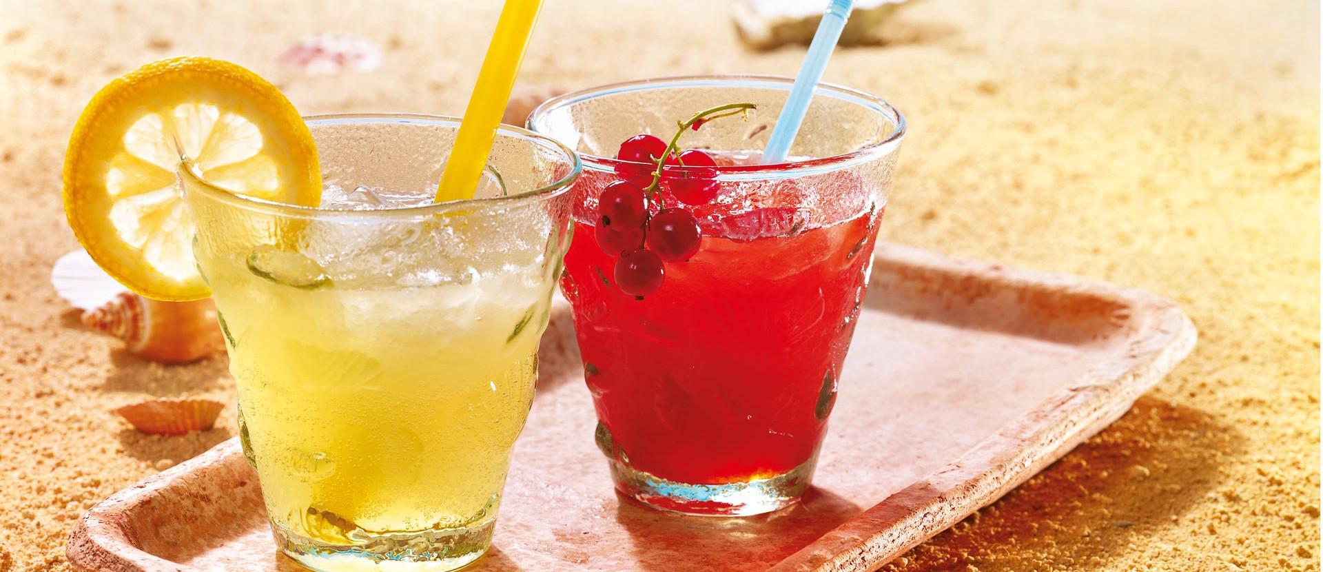 Beeren-Limonade