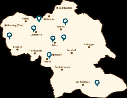 Karte mit allen Landprimusbetrieben
