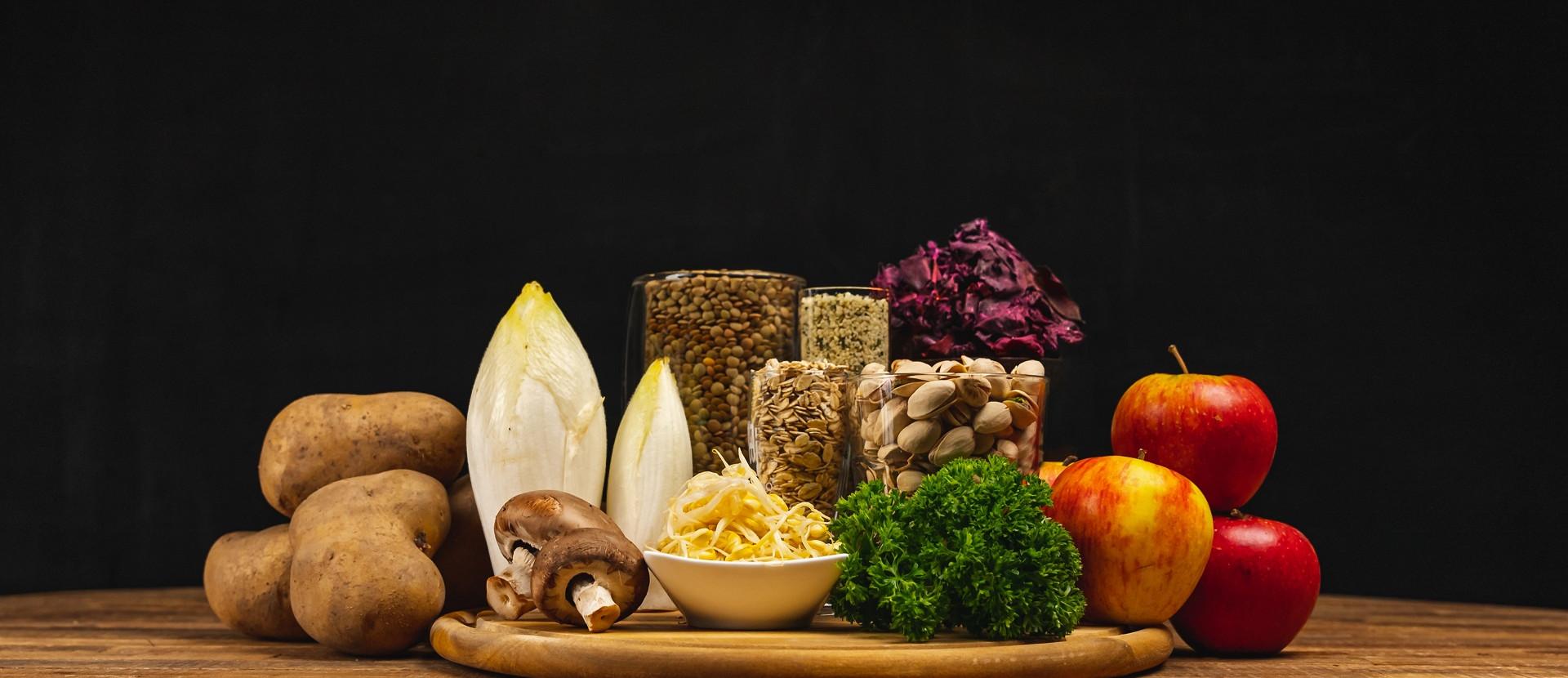 Future Foods Titelbild verschiedene Produkte