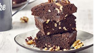 Walnuss Brownies Schokolade