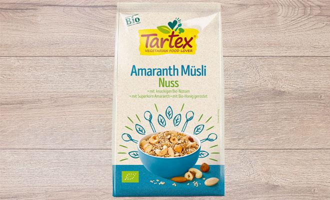 Tartex Amaranth Mueslie Nuss
