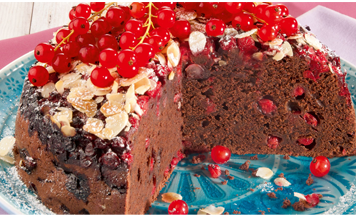 Johannisbeer-Schokoladen-Kuchen