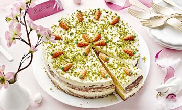 Rübli-Torte mit Eierlikörcreme