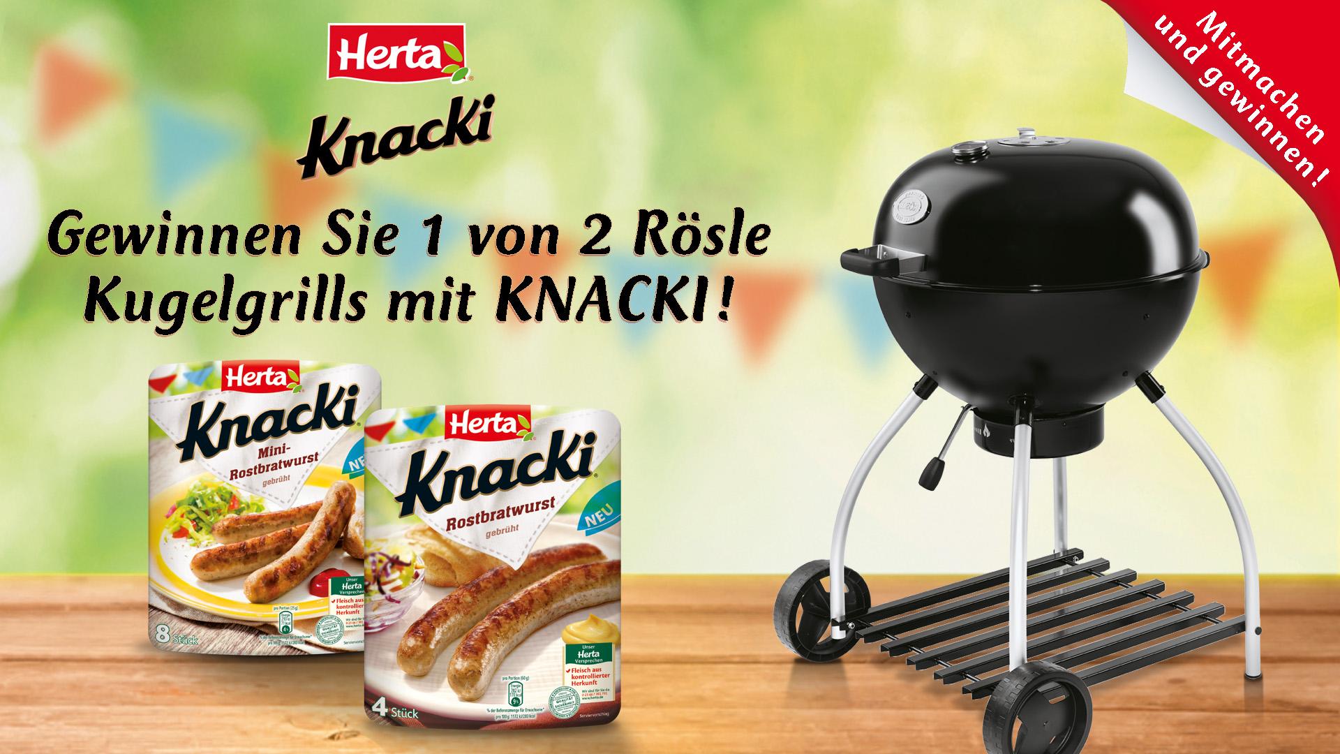 Herta Gewinnspiel Grill