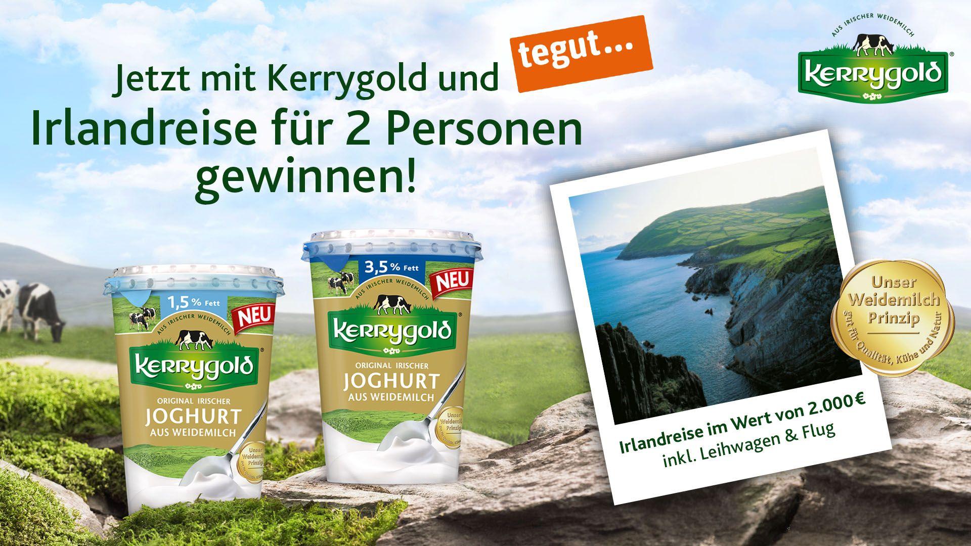 Kerry Gold Gewinnspiel