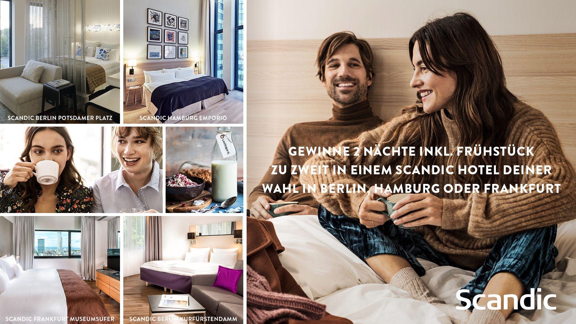 Gewinnspiel Scandic Hotels