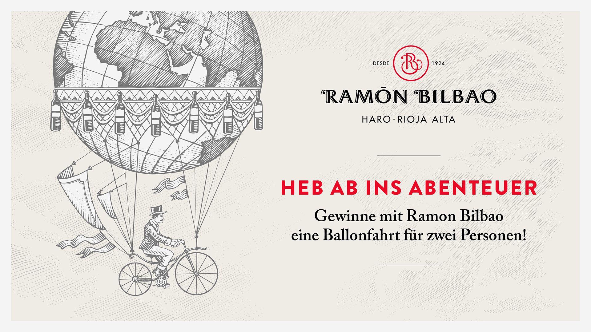Ramon Bilbao Ballonfahrt Verlosung