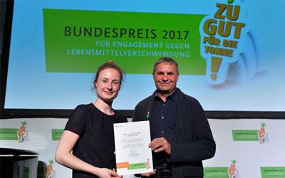 Stella Kircher und Remmlinger Rueben Bundespreis